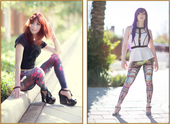 GEEKWEAVE CLOTHING - Video Game Inspired Leggings by Stan Chan