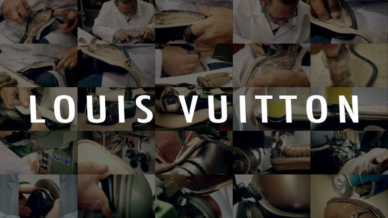 ルイ・ヴィトンのメンズシューズメイキング映像