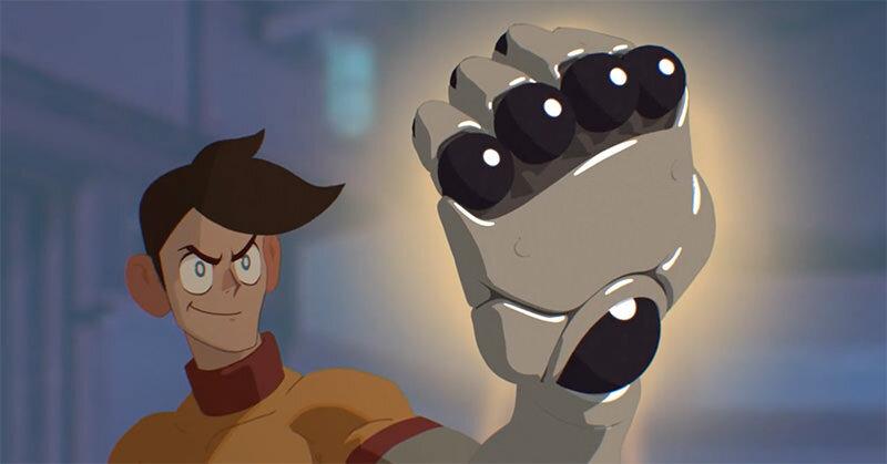 『X-Story』パワーアームを手に入れた青年のストーリー
