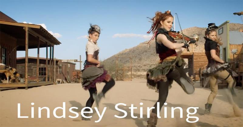 踊るバイオリニストことLindsey Stirlingちゃんをご覧