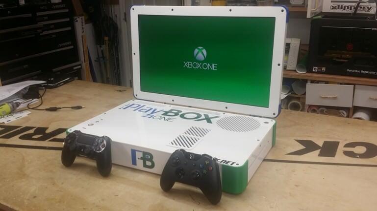 PS4とXboxを合体させた人がいるようです。