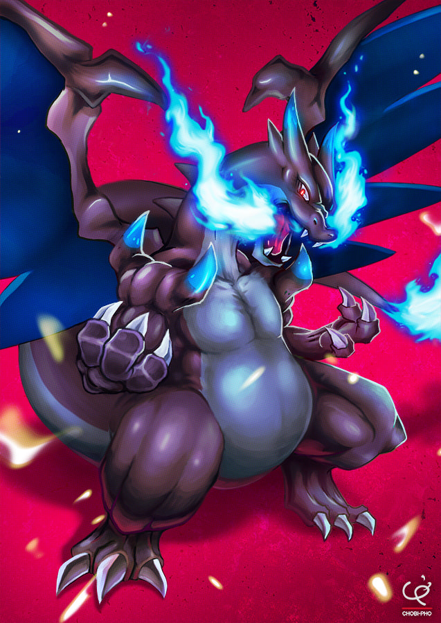 tough_claws_mega_charizard____by_chobi_pho-d7rgbpj
