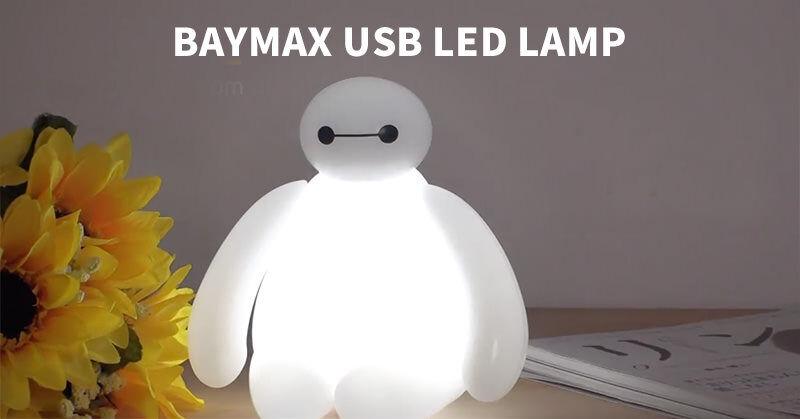 「ベイマックス」の形をしたUSB LEDランプ