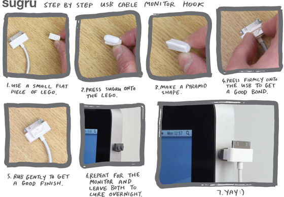lego-usb-cable-tidy-step-by-step