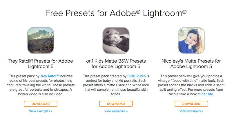 写真の雰囲気変えに便利!無料でLightroomの高品位プリセットをダウンロードしよう