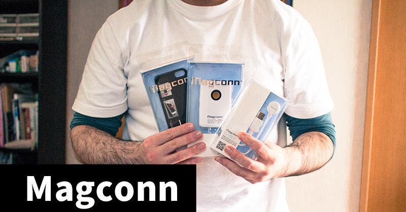 株式会社コーテックのMagconn搭載iPhone充電セットを手に入れた!