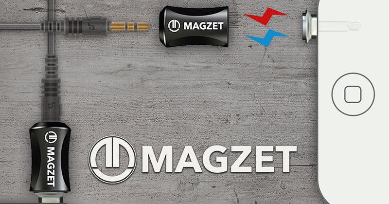 「MAGZET」はイヤホンジャックを今まで以上に取り扱いやすくする(Kickstarter)