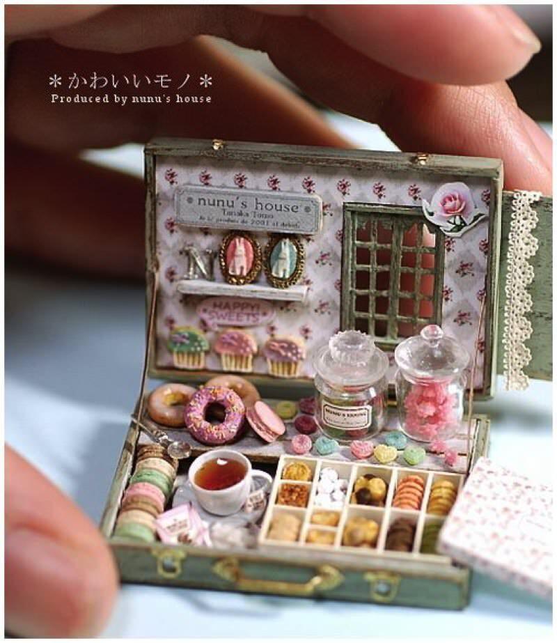 田中智のミニチュア作品 お菓子セット