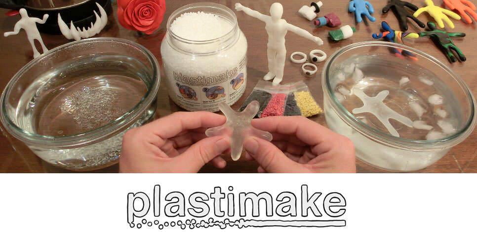 造形物の難易度を究極に下げる「Plastimake」のご紹介