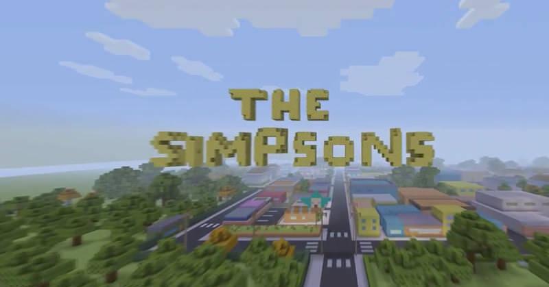 シンプソンズのOPをMinecraftで再現しちゃった