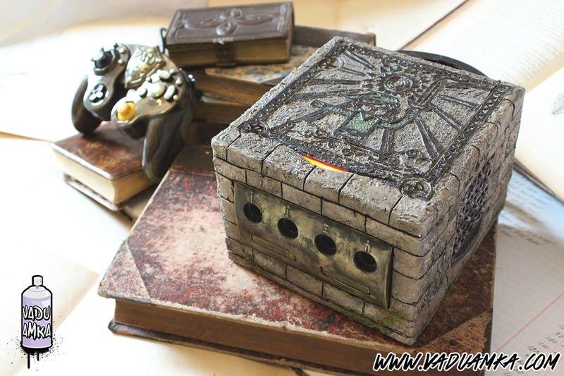 『ゼルダの伝説 風のタクト』風にデザインされたゲームキューブが凄い!