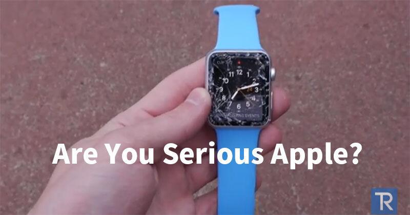 Are You Serious Apple? 自ら行った「Apple Watch Sport」の落下テストでガチギレする人
