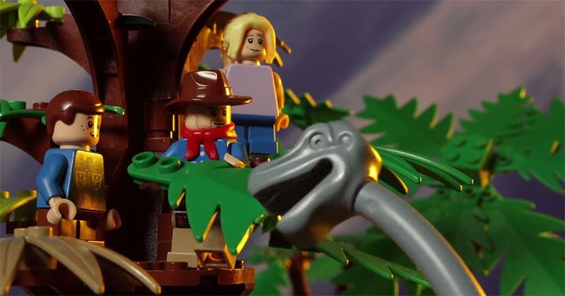 LEGOで再現された「ジュラシックパーク」がすごいぞ!