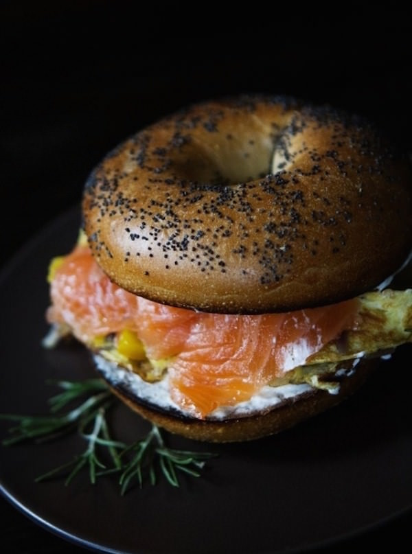Smoked-Salmon-And-Egg-On-A-Bagel