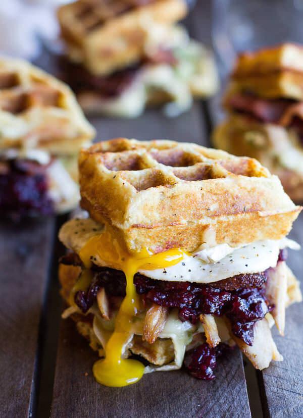Turkey-Smashed-Avocado-Cranberry-Brie-and-Mashed-Potato-Waffle-Melts1