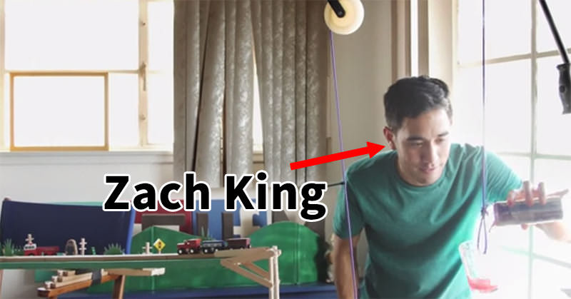 Zach King によるVineの撮影方法がピタゴラスイッチ的だった
