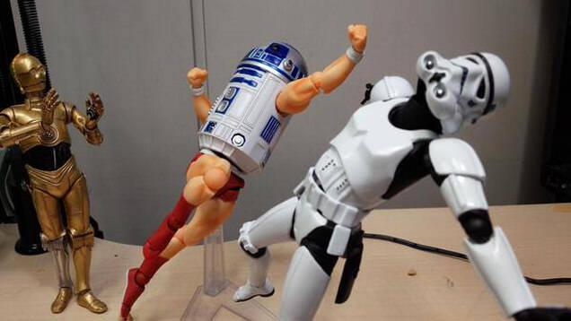 R2-D2ご乱心!?日本人モデラー山口勝久さんのツイートが面白い