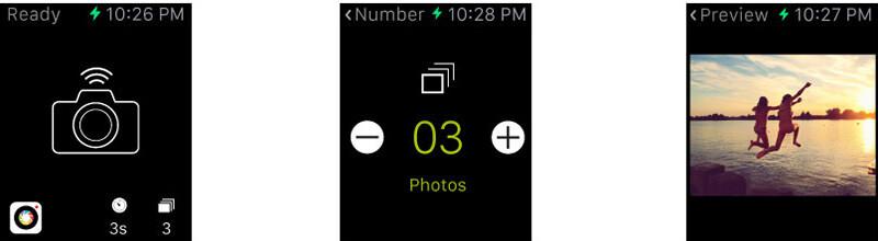 Apple Watchは、ProCameraのファインダーとしても利用できる