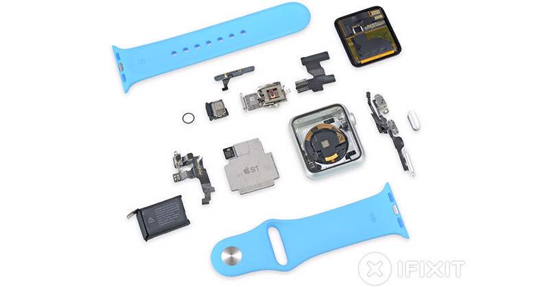 Apple WatchはすでにiFixitにより分解されている