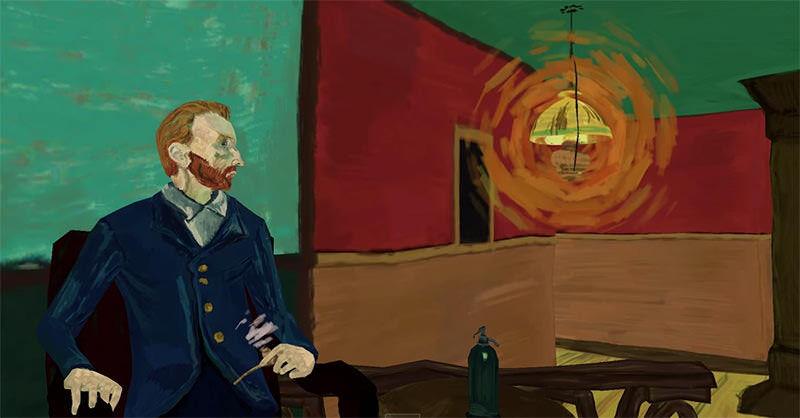 ゴッホの絵画「夜のカフェ」をVRな世界で体験できる
