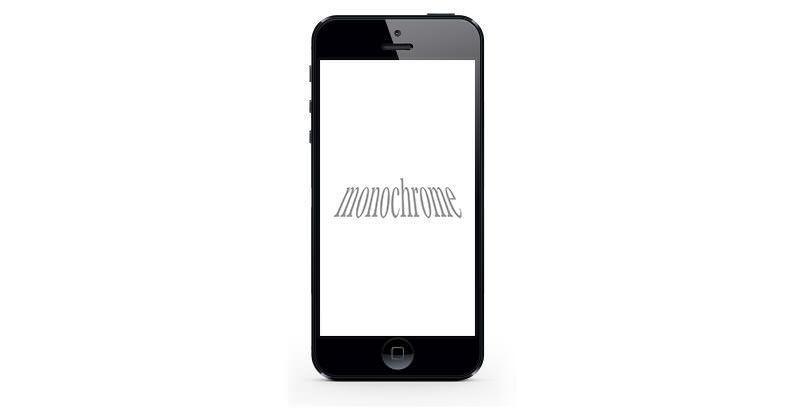iPhoneでモノクロ写真をやるススメとかどうでしょうか?