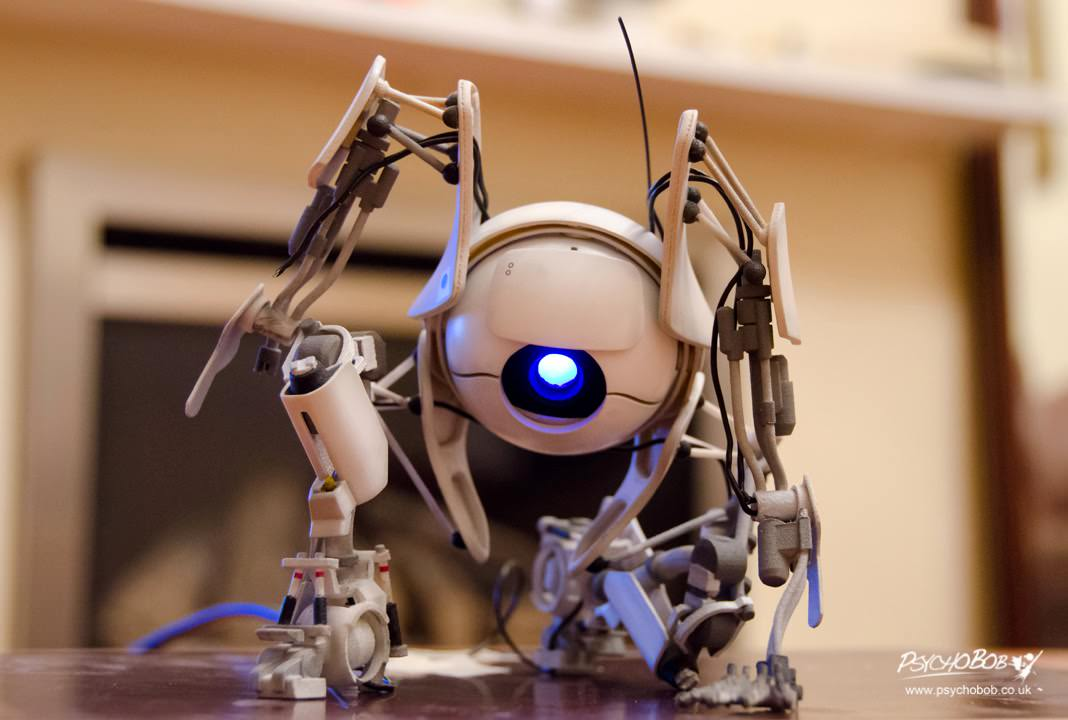 3Dプリンターを使って「Portal 2」のAtlasフィギュアを作る!