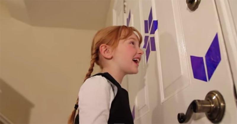 「雪だるまつくろ〜♪」映画『アナと雪の女王』の歌パートを実写で再現した素敵なやつ