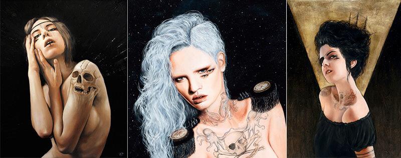 Charmaine Oliviaが描く女性のイラストは魅力的だ