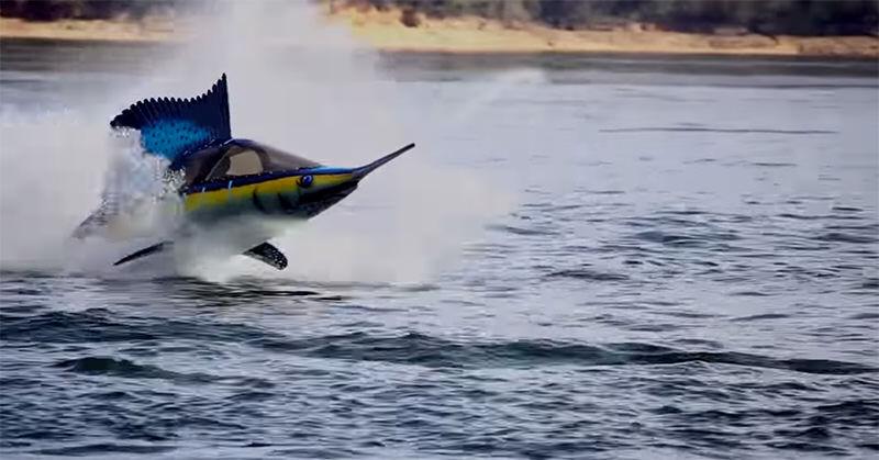 気分は海を駈ける魚の気分!水中移動装置Seabreacher