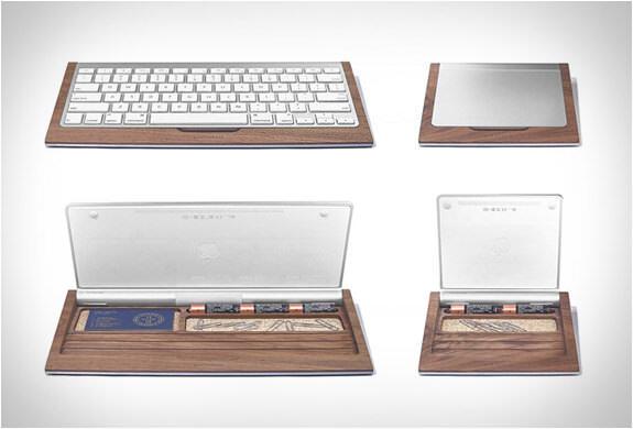 Macのキーボードをオシャレに飾るGROVEMADE DESK TRAYS