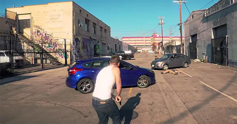 GTAを再現した動画がかなり作り込まれている!