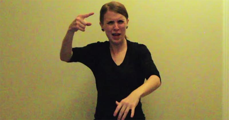 エミネムの「Lose Yourself」を手話でやっちゃう!