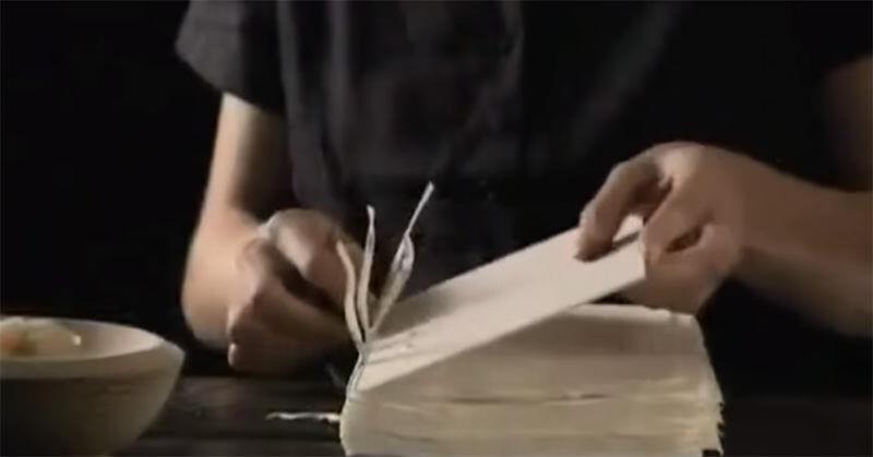 一冊の本が手作業で作られていく過程が素晴らしい