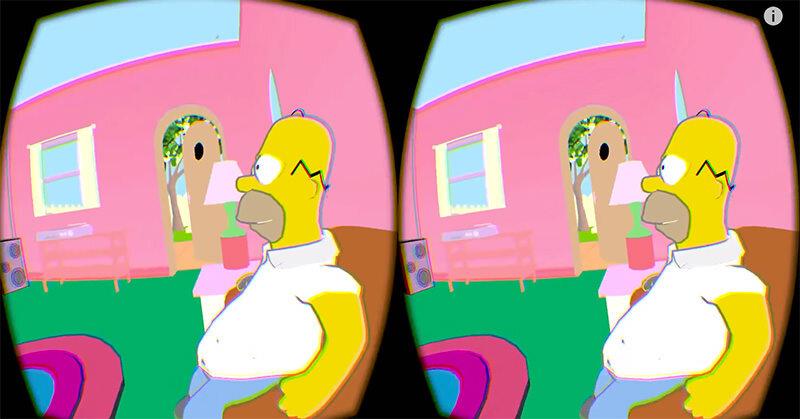 シンプソンズの世界に入れるOculus RiftをつかったVR体験