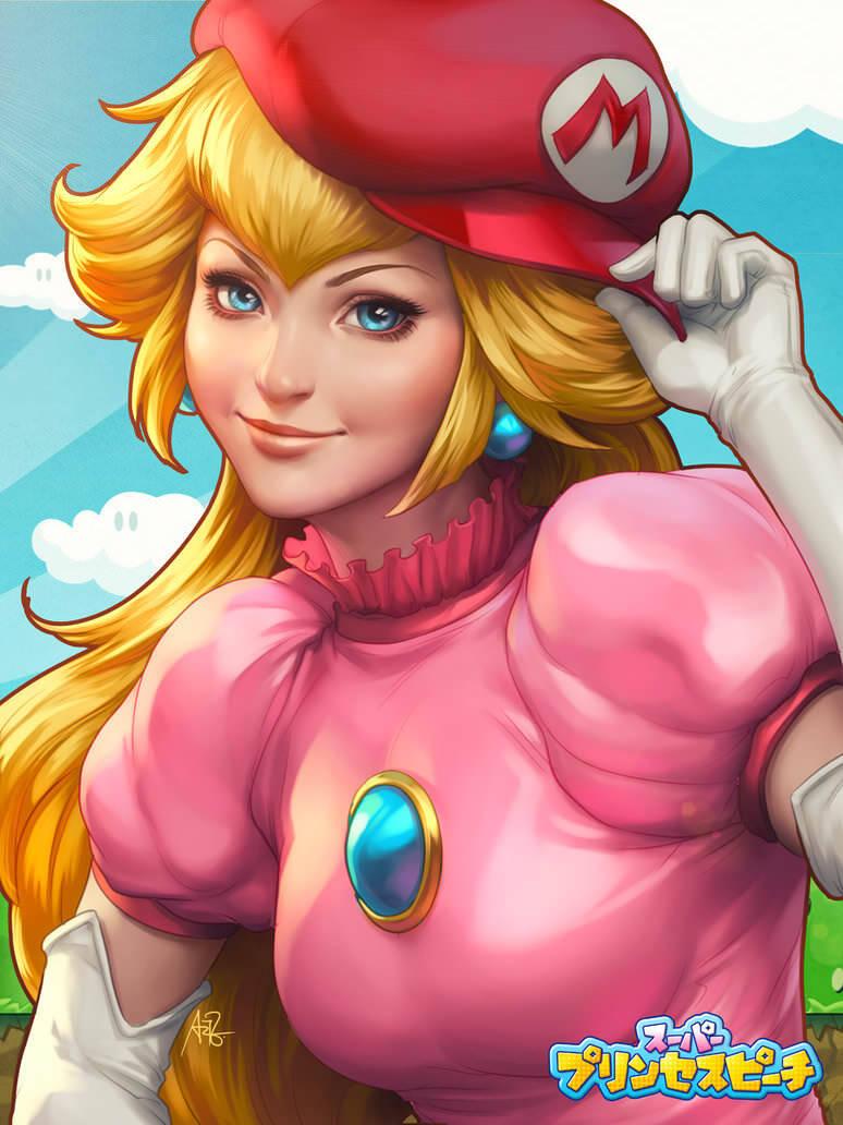 peachy_princess_by_artgerm-d7k7tmu