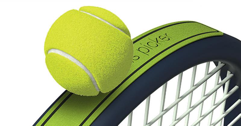 テニスボールをしゃがまずに取れるキット「Tennis Ball Picker」