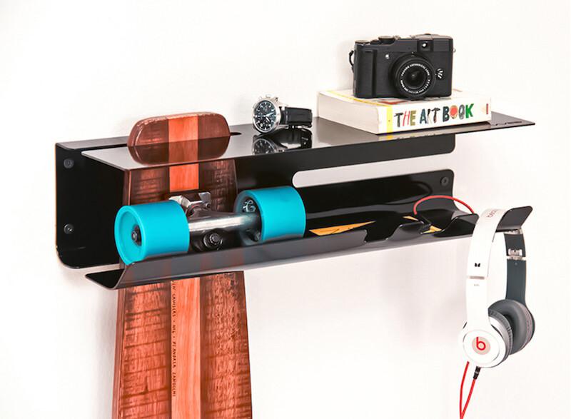 スケートボードを良い感じに壁にディスプレイできるWall Ride