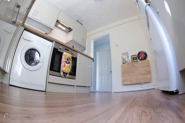 キッチンの写真素材