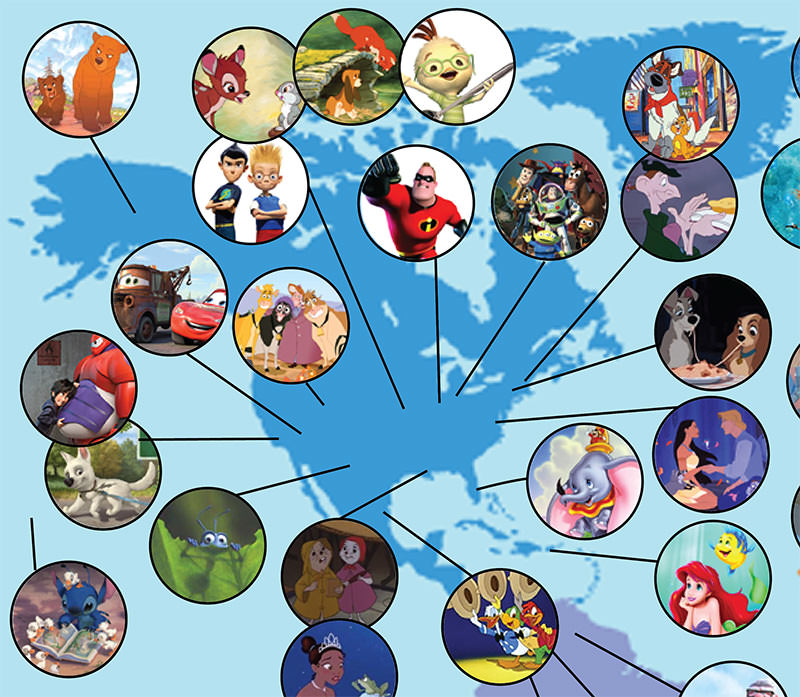 ディズニーマップ