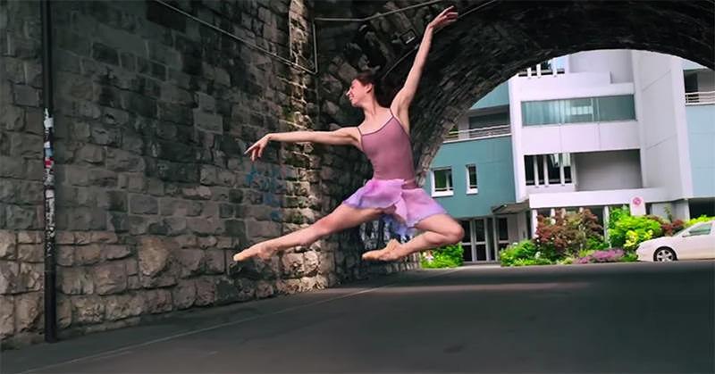 全てiPhone 6で撮影された美しいダンサーの映像