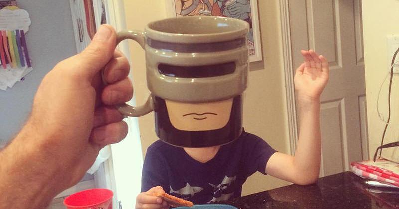 マグカップを使ったチョト笑える写真アイディア