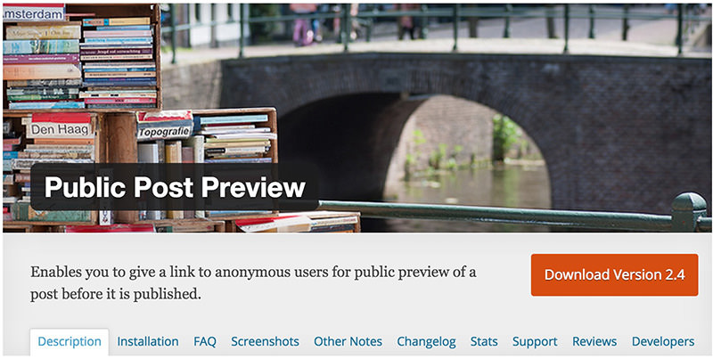 「下書き」記事を見せたい相手に公開できるWPプラグインPublic Post Preview