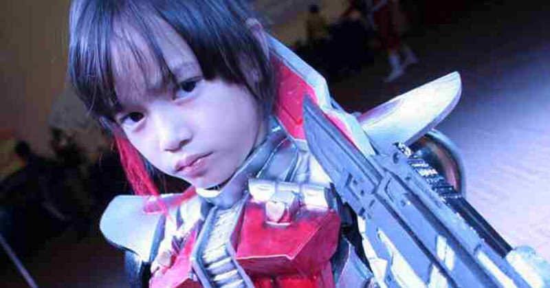 仮面ライダー少女!8歳のコスプレイヤーSerreniethy fionahちゃん!