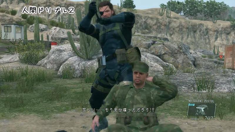 MGSV:GZで華麗な操作を見せるBIG SARU氏のプレイ動画がスゴイ