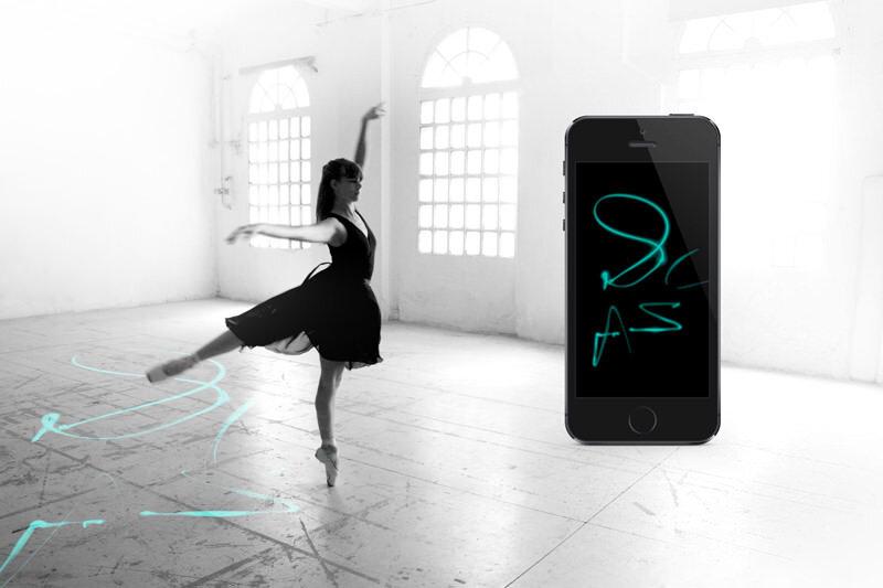 ダンス時の足の動きをトレースするシステムE-TRACES