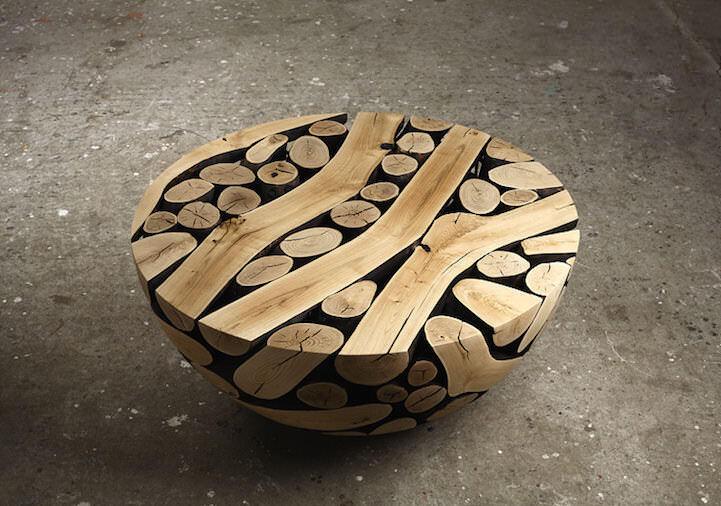 Sculptures of wood Lee Jae-Hyo