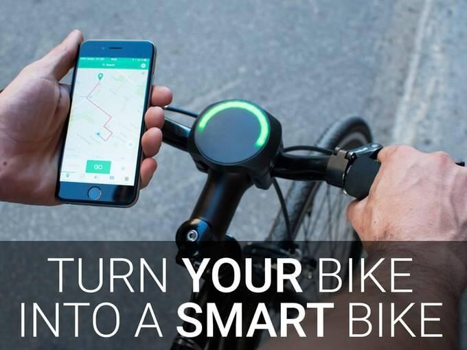 ナビなど5つの機能を一台でこなす自転車用スマートがジェットSmartHalo