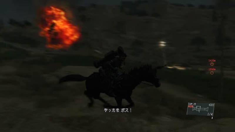 BIG SARU氏によるMGSV:TPPミッション「装甲部隊を急襲せよ」の全ミッションタスク達成がすごい!