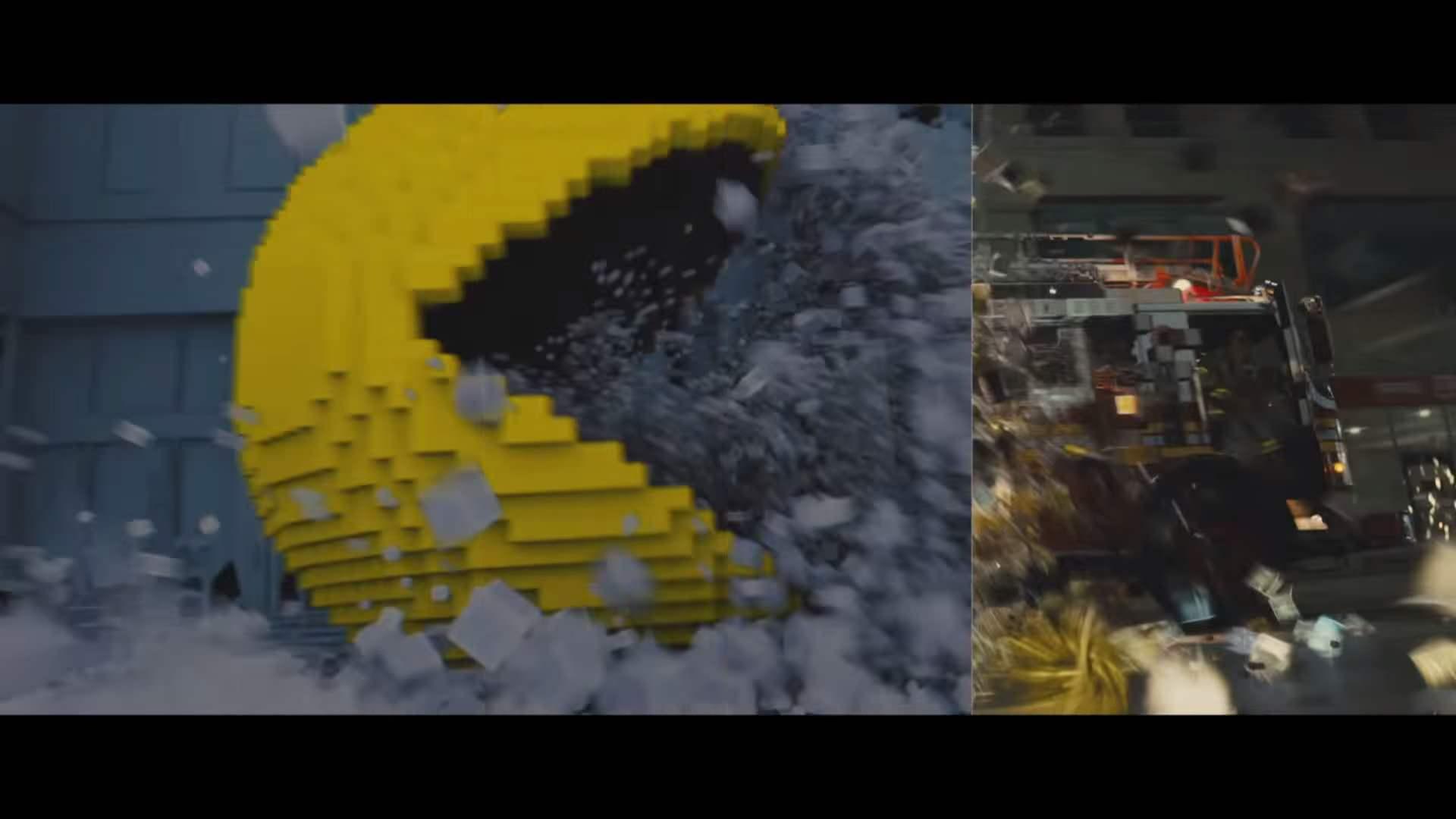 映画「ピクセル」の舞台裏、CG制作がどのように行われているか。