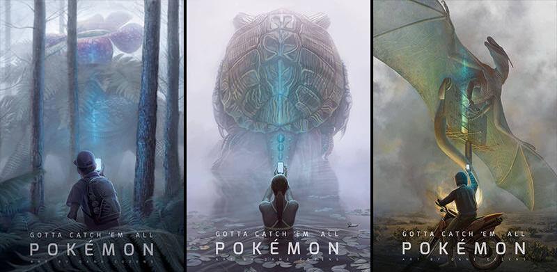 初代ポケモン御三家が究極進化してリアルな世界にいたら…。